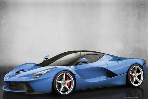 blue ferrari ferrari laferrari blue wallpapers gallery