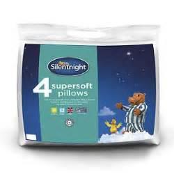 Deals On Pillows by Silentnight Supersoft Pillow 4 Pack 163 13 99 At Ebay