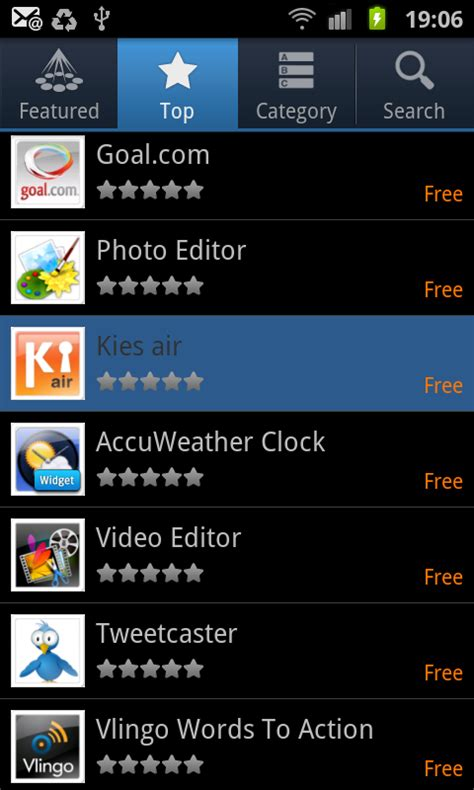 Samsung App Store Samsung Launches Premium App Store For The Uk Talkandroid