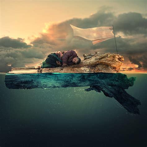 imagenes paisajes surrealista el surrealismo realista de caras ionut