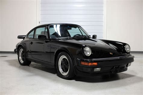 porsche coupe black 1986 porsche 911 carrera coupe black 35 040 miles sloan cars