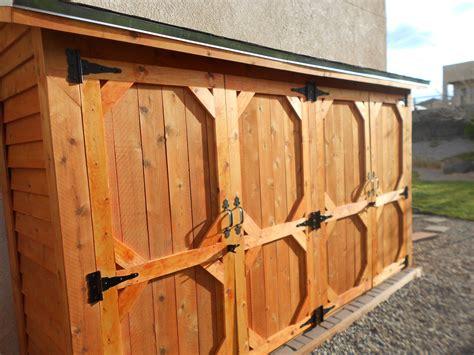 double wide cedar fence picket storage shed