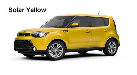 Kia Soul Colors by 2016 Kia Soul Exterior And Interior Color Options