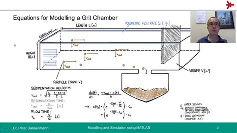 design criteria for grit chamber 9 2 modelling a grit chamber 720p youtube
