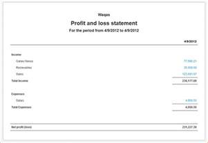 simple profit loss statement template 9 simple profit and loss statement academic resume template
