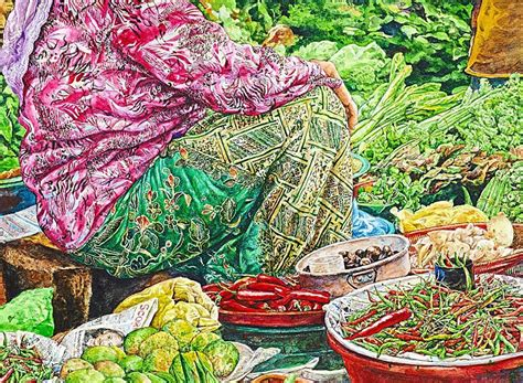 kisah artist melayu vereran travel miles malaysian art steadily being noticed in