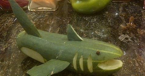 cucumber sharkuse seeds upright   teeth  mouth   sea party pinterest