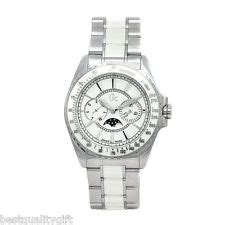 Guess Collection Gc 3 Aquasport X79002g2s guess collection white ceramic silver chrono moon phase