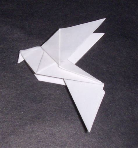 How To Make An Origami Dove - origami origami dove