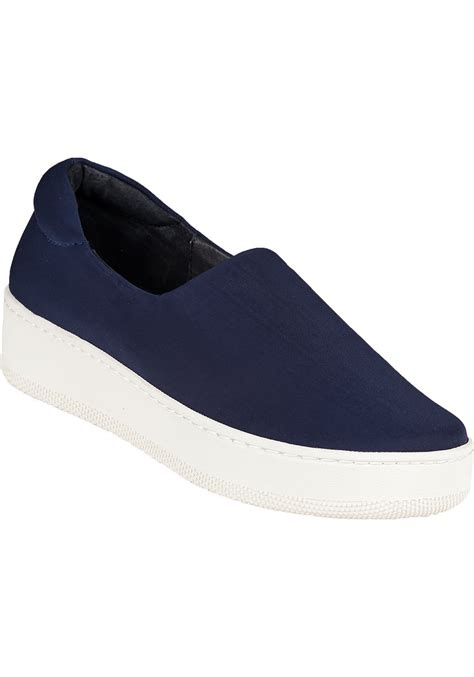 Slip On On19 Putih 2 lyst j slides jackie slip on sneaker navy fabric in blue