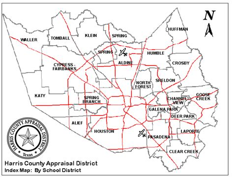 harris county map texas harris county appraisal district maps