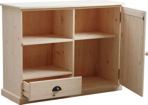 meuble bois blanc meuble tv en bois brut