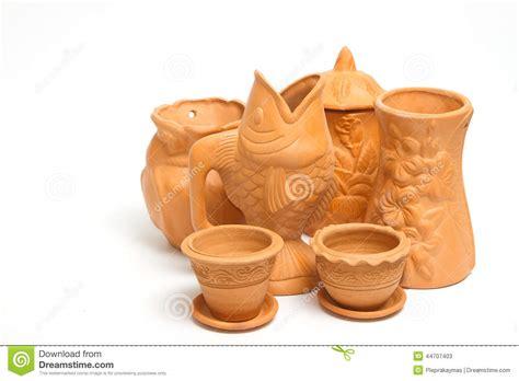 argilla per vasi gruppo di vasi dell argilla per fare il giardinaggio