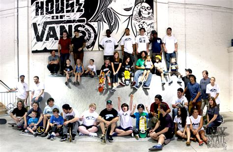 Kid Lukito a skate foundation clinic house of vans 2011