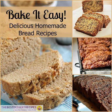 Handmade Bread Recipes - bake it easy 19 bread recipes