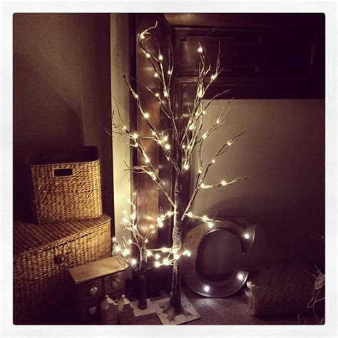 small outdoor trees with lights small led light up indoor outdoor snow covered brown