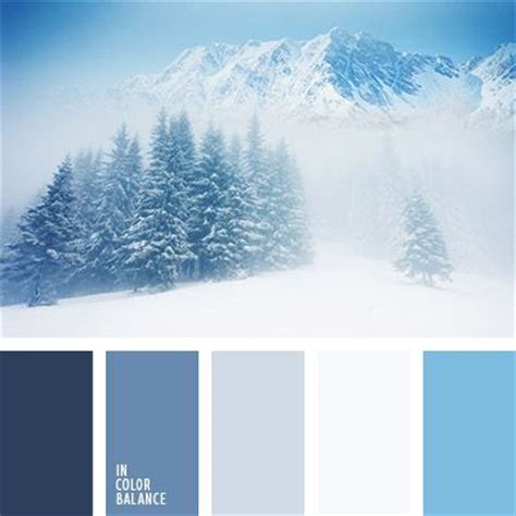 colors of winter best 25 winter color palettes ideas on