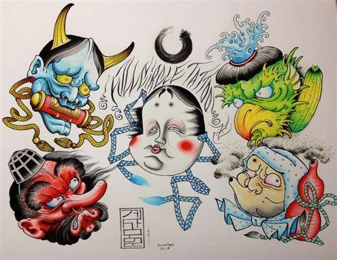 tattoo oriental flash henry gae art made by us pinterest tattoo japanese