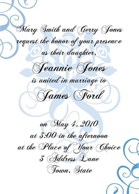 free formal invitation template micaela brody s portfolio invitation templates