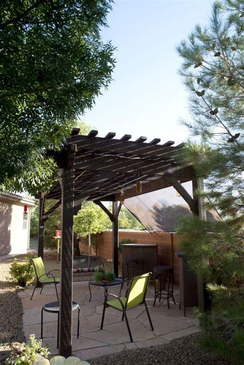 Shade In Utah S Dixie Diy Timber Frame Pergola Western Pergola Kits Utah
