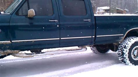 f350 bed 1996 ford f350 powerstroke 4x4 long bed youtube