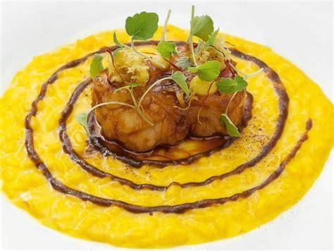 cucinare rana pescatrice riso con zafferano e ossobuco di rana pescatrice ricette