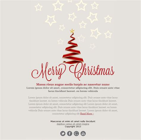 Free Email Templates For Christmas Card Greeting Sendblaster Bulk Email Software Card Emails Templates Free