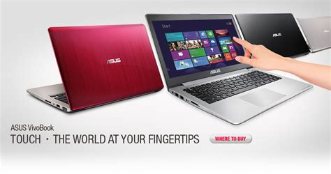 Laptop Asus Vivobook S550cm asus vivobook s550cm laptops asus global