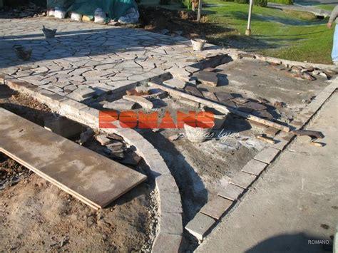 lajas para pisos como colocar lajas lajas de cemento romano