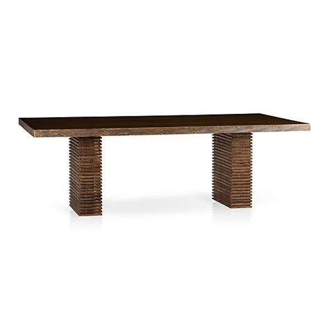 crate and barrel dining bench paloma i dining table in paloma i dining tables crate