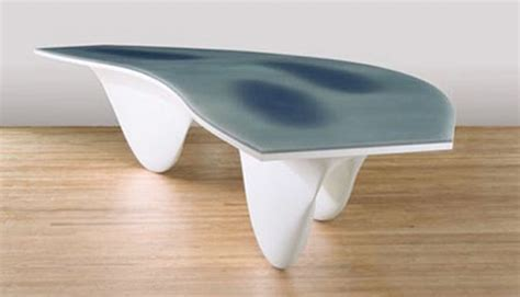 aqua table designshell