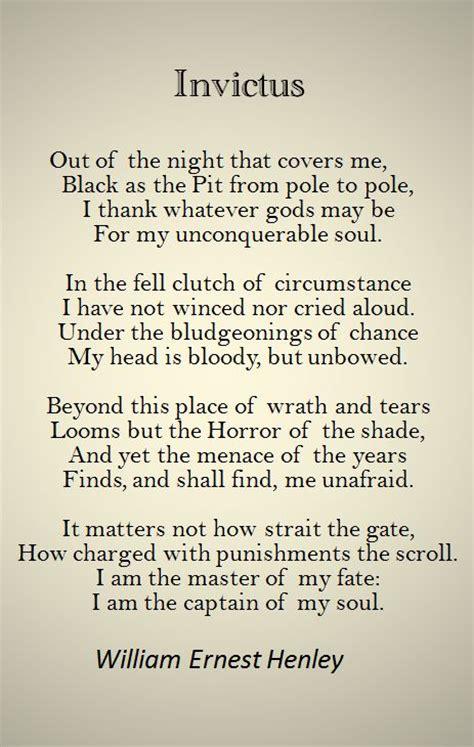 Invictus Essay by Image Gallery Invictus Poem