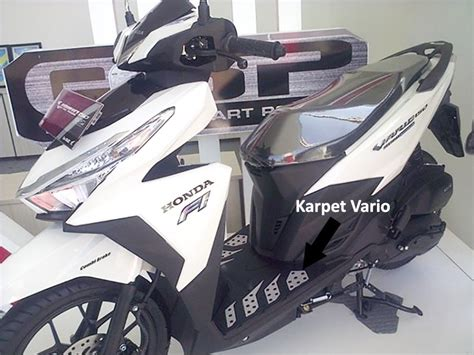 Karpet Vario 125 Led virgo racing karpet vario 125 atau karpet vario 150