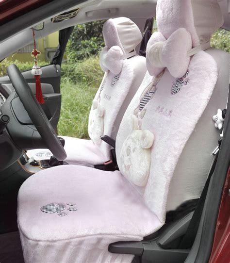 pink plush seat covers buy wholesale winter fleece car seat cushion