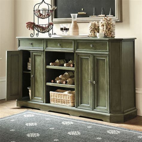 dining room buffet decor grandezza console warm green traditional buffets and sideboards by ballard designs