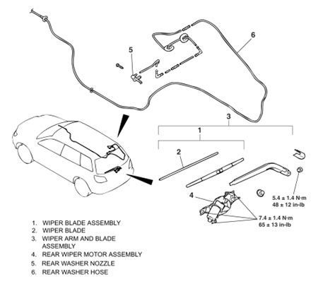repair guides windshield wipers front windshield repair guides windshield wipers washers rear window wiper washer system autozone com