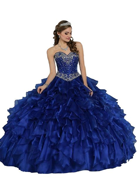 Bjg Blue Dress royal blue quinceanera dresses dress home