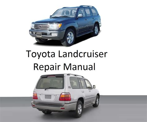 service manual how to fix cars 1998 toyota tacoma electronic toll collection toyota tacoma toyota landcruiser 1998 2007 repair manual