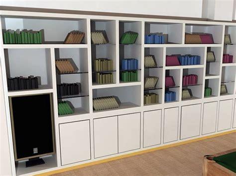 parete libreria cartongesso libreria per parete curva libreria in cartongesso
