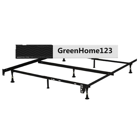 queen size bed frame dimensions queen size metal bed frame