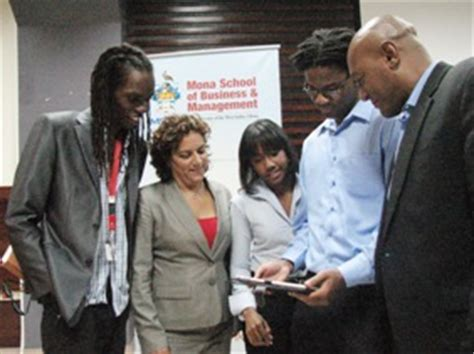 Mba In Jamaica by Uwi Mona Advances Plans For E Books Access With Incoming