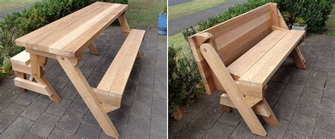 picnic table plans enjoy outdoor meals