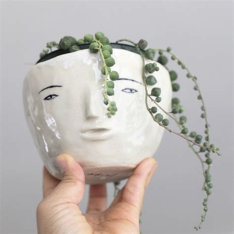 Head Planter Pots For Sale by 80 Best Sicilian Vases Head Vases And So On Images On