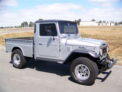 toyota land rover truck toyota land cruiser fj45 1965 5k auto 4wd ac jeep