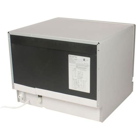 edgestar countertop portable dishwasher for 6 place
