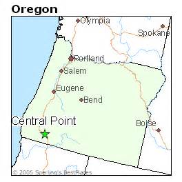 where is central point oregon on the map best places to live in central point oregon