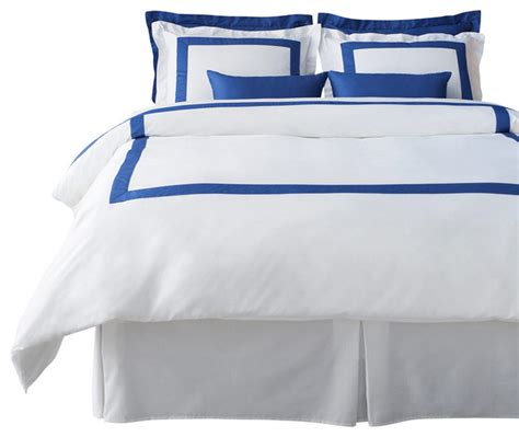 Blue And White Duvet Cover Lacozi Blue White Duvet Cover Set Contemporary Duvet