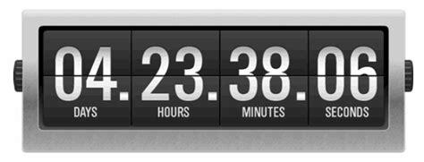 aftellende klok countdown clock ticketbud blog