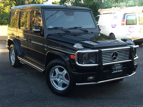 Mercedes G55 For Sale by 2003 Mercedes G55 Amg Designo Black On Black For Sale