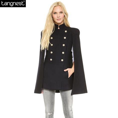 7 Best Pea Coats For Fall by Aliexpress Buy Tangnest Breasted Pea Coat
